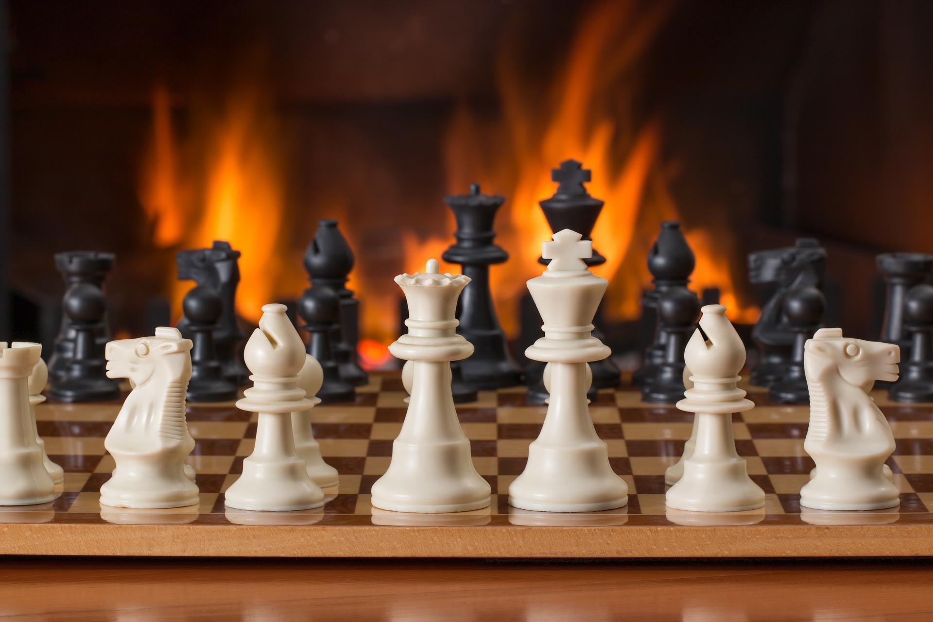 Spill sjakk på nett i pausen!